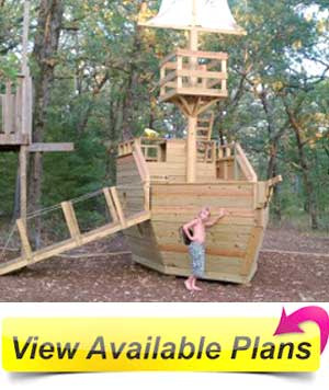 do that we needed some kick ass wooden pirate ship playhouse plans
